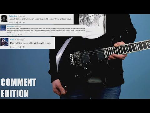 9 Cruel Ways to Troll Rude Guitar Center Employees #2 COMMENT EDITION