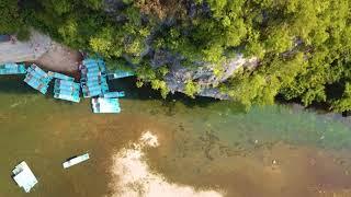 Video : China : Beautiful YangShuo 阳朔, GuangXi province - aerial footage