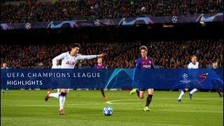 UEFA Champions League | Barcelona vs Tottenham Hotspur | Highlights