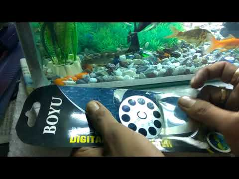 Aquarium Digital Thermometer low price , good result [hindi]