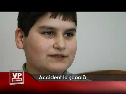Accident la şcoală