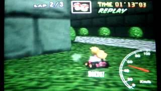 "Mario kart 64 - BC lap - 43""28"