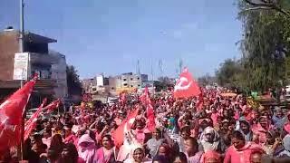 aaganwari workers ka khttar sarkar ko chetavani