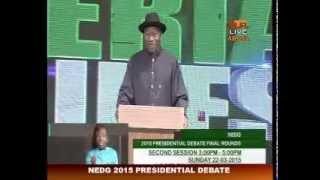 NEDG Presidential Debate 2nd Session 22-03-2015