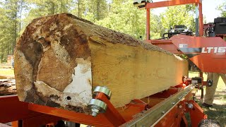 Making Useful Lumber from an Ugly Log