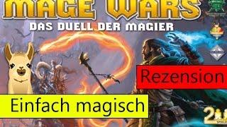 Mage Wars (Spiel) / Anleitung & Rezension / SpieLama