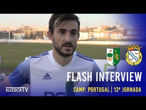 Lourinhanense 0-4 FC Alverca - Flash Interview