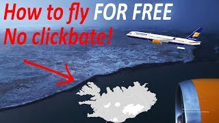 How to Fly to Iceland FOR FREE - Sleepover Trick