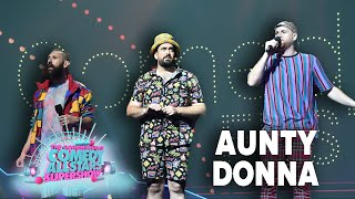 Aunty Donna - 2021 Melbourne Int. Comedy Festival Opening Night Comedy Allstars Supershow (pt 1)