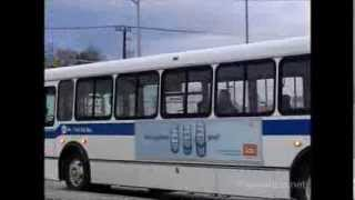 preview picture of video 'Oakville Transit arrivals and departures @the Oakville GO Station - December 24, 2003'