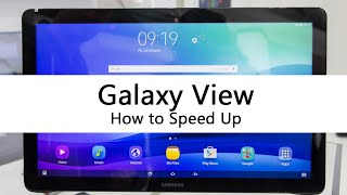 How to Speed Up the Galaxy View