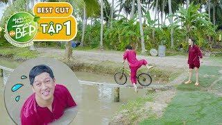 Giang Ca, Puka thi tài chạy xe đạp qua cầu khỉ... Cười vỡ bụng 😂 | Muốn Ăn Phải Lăn Vào Bếp