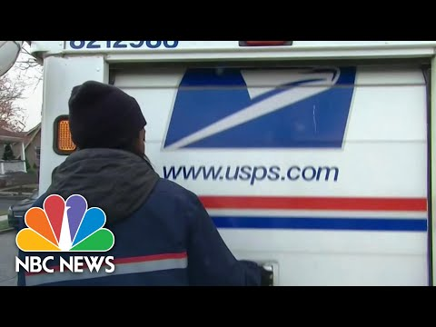 U.S. Postal Service Warns Mail-In Ballots May Be Too Late | NBC Nightly News