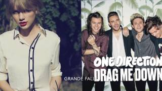 I Knew You Were Trouble / Drag Me Down ~ Mashup