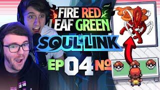THE BEST STARTER! • Pokemon Fire Red & Leaf Green Randomizer Soul Link • 04
