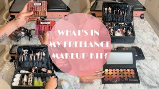 WHATS IN MY FREELANCE MAKEUP KIT | ORGANISING YOUR KIT | ELOISE MAE MAKEUP