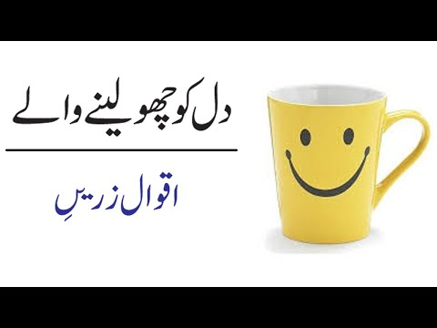 Download Inspirational Best Urdu Quotes About Life | Aqwal In Urdu Mp4 HD Video and MP3