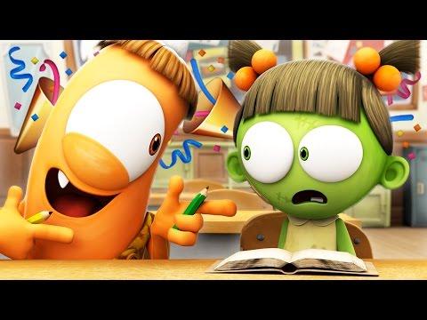 Funny Animated Cartoon 🎉 SPOOKIZ NEW SEASON 🎉 SCHOOLS OUT! 🎉 스푸키즈 | Cartoon for Kids