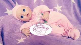 New Baby Annabell Interactive Doll and Accesories Zapf Creation Babypuppe, Puppe