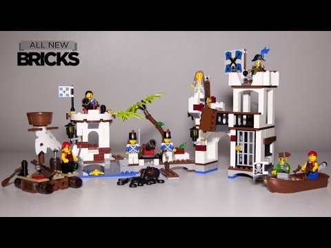 Vidéo LEGO Pirates 70410 : L'avant-poste des soldats
