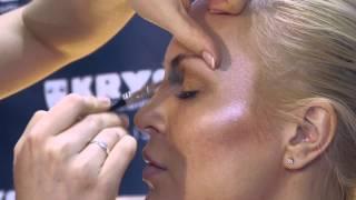 Модный макияж с эффектом загара. KRYOLAN