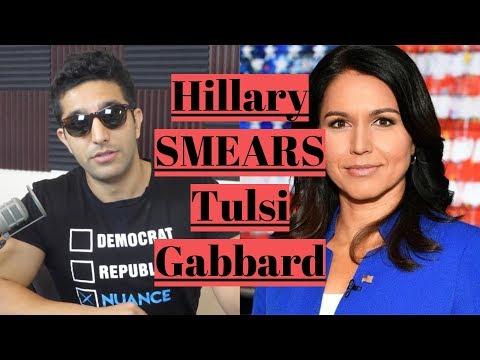 """Hillary Clinton Calls Tulsi Gabbard a """"Russian Asset"""" Tulsi Responds"""