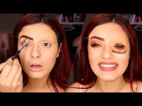 Maquiagem invertida