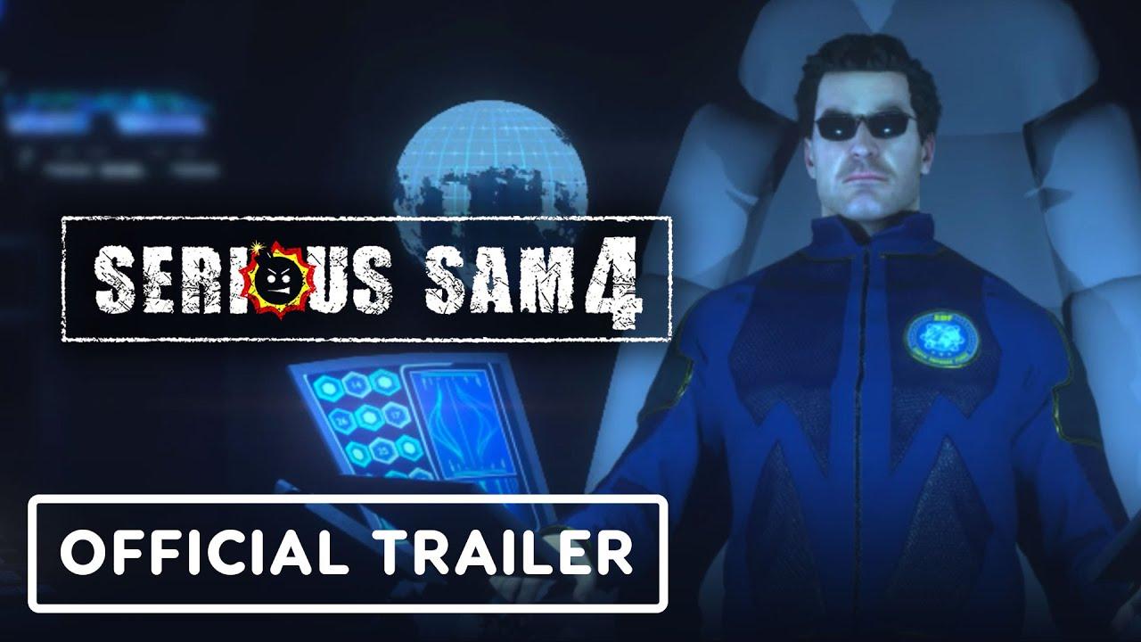 Геймплейный трейлер игры Serious Sam 4
