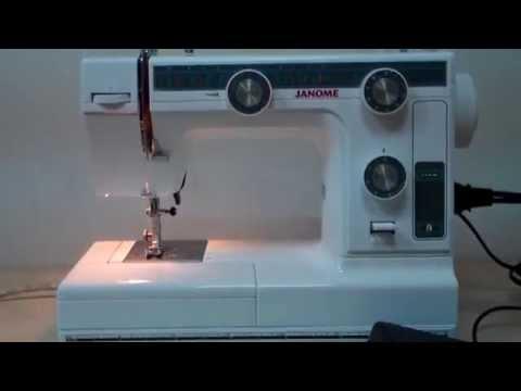 Ознайомлювальне відео про швейну машинку JANOME LE22 (394)