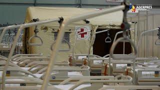 Coronavirus: Armata cehă instalează un spital de campanie într-un centru de congrese din Praga