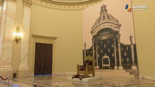Tronul Regilor României - expus la Muzeul Naţional de Artă, după mai bine de 70 de ani