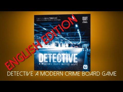 Detective: A Modern Board Game