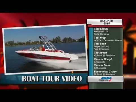 Bayliner 185BR Runabout Boat Test