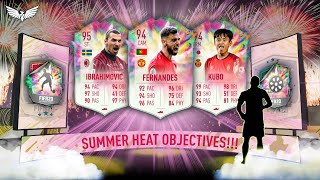 *LIVE* SUMMER HEAT OBJECTIVES GRINDING!!! - SUMMER HEAT GRINDING -  FIFA 20 Ultimate Team