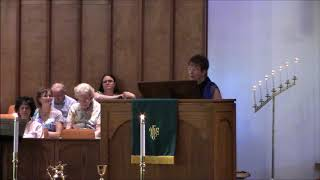 """Dinner Companions""; Scripture Reading: Mark 2:13-17; Rev. Wendy Warner, Sunday June 23, 2"