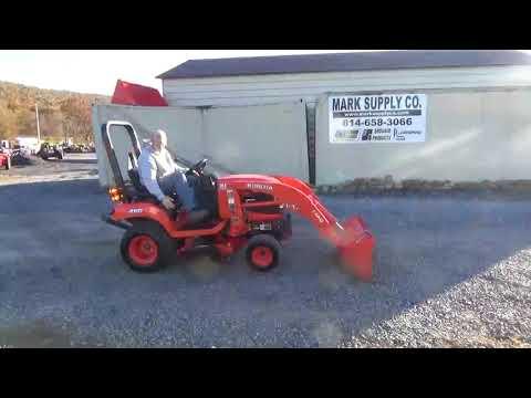 2012 Kubota BX1860 Sub Compact Tractor Loader Belly Mower Kubota Diesel For Sale