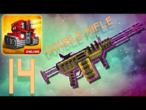 Blocky Cars Online - Double Rifle (Gameplay Part 14)