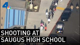 Watch Live: Shooting at Saugus High School in Santa Clarita | NBCLA