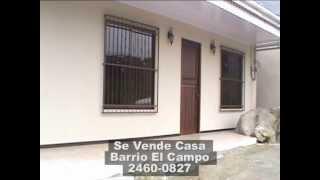 preview picture of video 'Se Vende Casa en Barrio El Campo, Ciudad Quesada.'