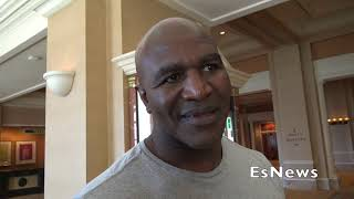 Evander Holyfield Thoughts On Wilder Crashing Fury Weigh INEsNews Boxing