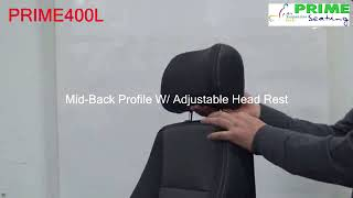 MID BACK PROFILE WITH HEAD REST