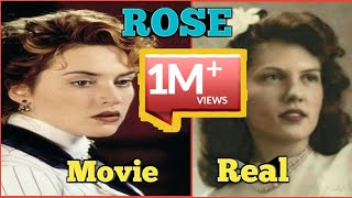 real vs movie rose | real life titanic passengers and crew | RMS Titanic (Ship)by #omg entertainment