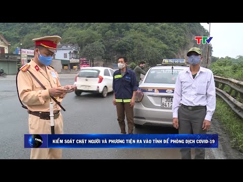Thanh Hóa kiểm soát chặt người và phương tiện ra vào tỉnh để phòng dịch COVID-19
