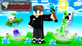 *NEW* Learning WIND MAGIC in Camp Minecraft!