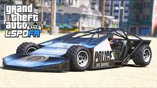 I patrolled in a new police ramp buggy!! (GTA 5 Mods - LSPDFR Gameplay)