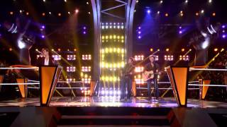Christian Porter VS The Swon Brothers   I Won't Back Down  The Voice USA 2013