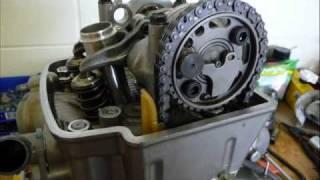 Honda CRF450R Rebuild