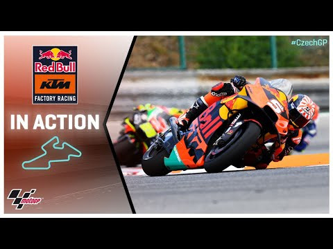 KTM in action: Monster Energy Grand Prix České republiky