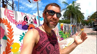 One Day in Playa del Carmen on the Yucatan of Mexico