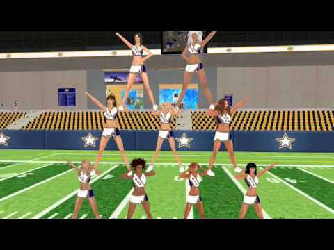 SLCS Promo Video, Second Life Cheerleading Squad